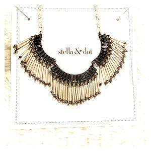 Stella & Dot Twilight Fringe Necklace